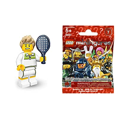 Lego Mini-Figures - Series 7 Tennis Player Figure: Toys & Games