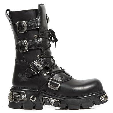 NEW ROCK Stiefel Boots Gothic braun Vegan M.373-V5