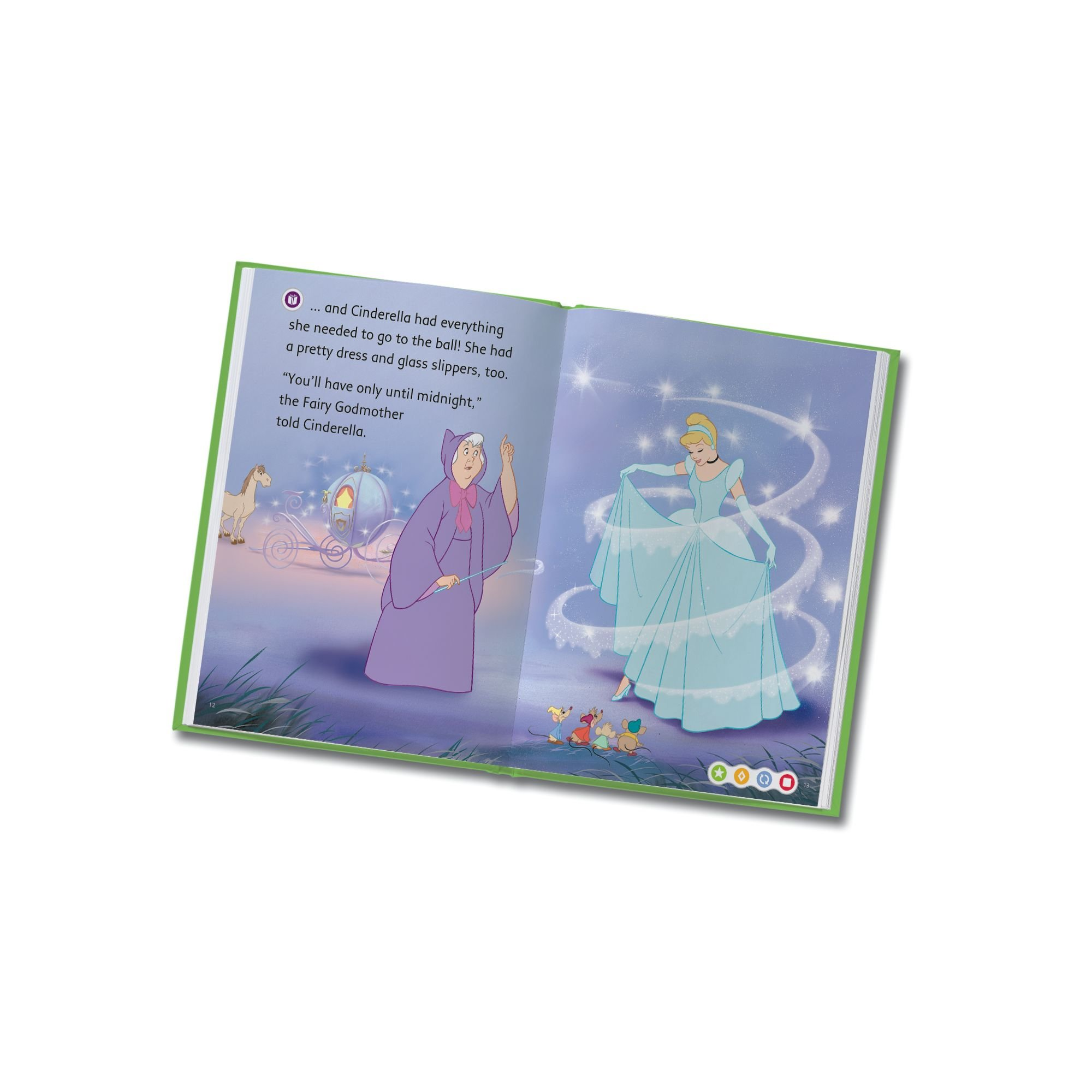 LeapFrog LeapReader Book: Disney Cinderella: The Heart That Believes (works with Tag) by LeapFrog (Image #5)