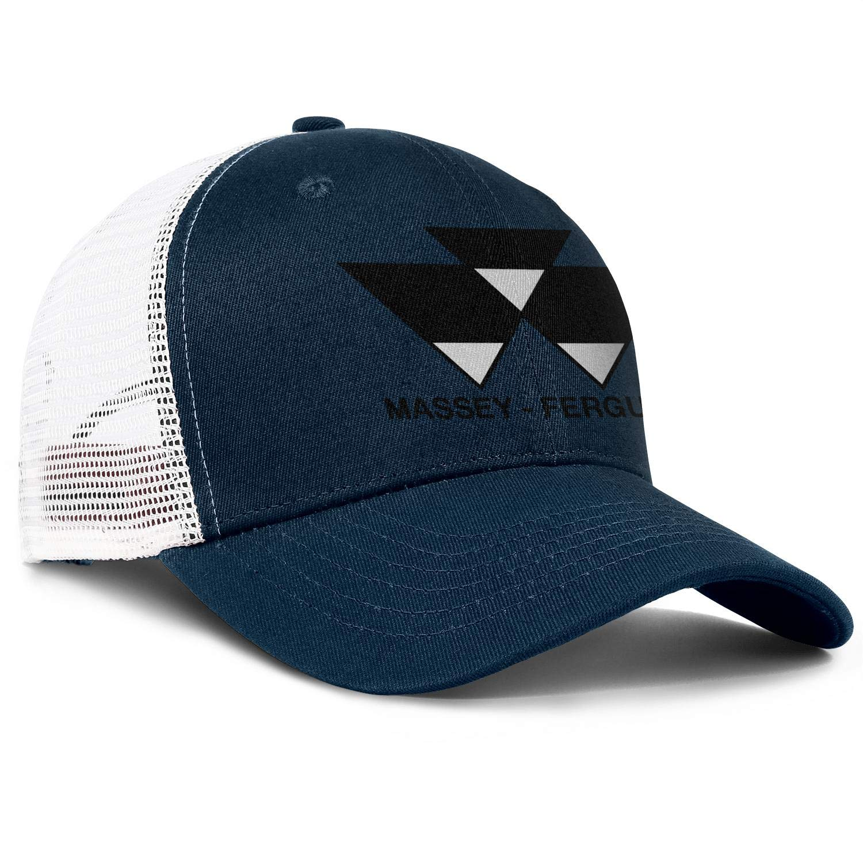 coolgood All Cotton Baseball Cap Massey-Ferguson Snapback Casual Mesh Hats