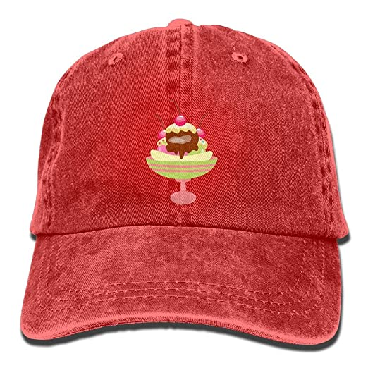 3e8472bf61c91b Image Unavailable. Image not available for. Color: Color Ice Cream Polo  Style Classic Baseball Dad Hat For Women ...