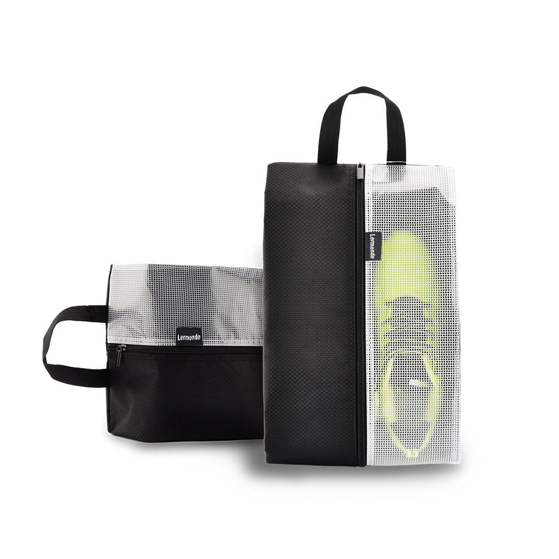 Lermende Travel Shoe Bags Waterproof Nylon Organizer Storage Tote Pouch 5pcs by Lermende (Image #5)