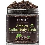 Exfoliante de café natural con exfoliante corporal orgánico de café, el mejor tratamiento para el acné, anticelulítico y…