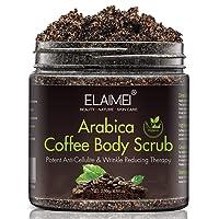 Coffee Body Scrub, Cellulite removal cream,Anti cellulite arm thigh abs tight and...
