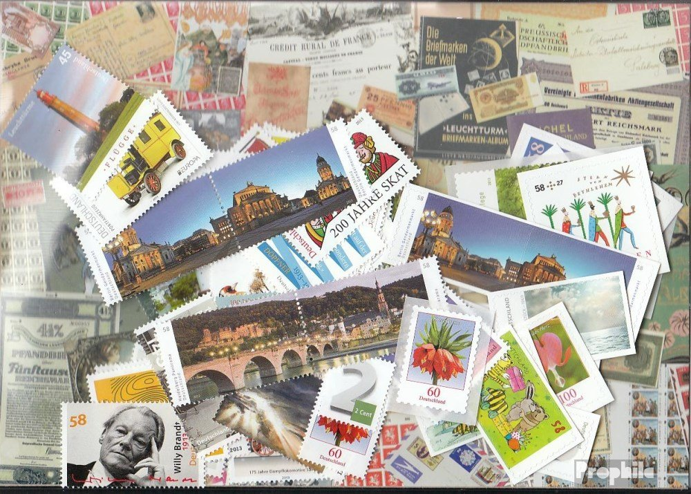 FRD (FR.Germany) 2013 unmounted mint / never hinged Complete Volume in clean Conservation (Stamps for collectors)