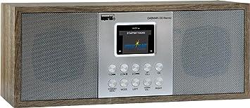Radio Stereo Sound, Internet//DAB+//DAB//UKW, WLAN, LAN, Aux In, Line-Out, Kopfh/örer Ausgang, inkl. Netzteil Imperial 22-134-00 Dabman i 30 Internet-//DAB Braun-Vintage