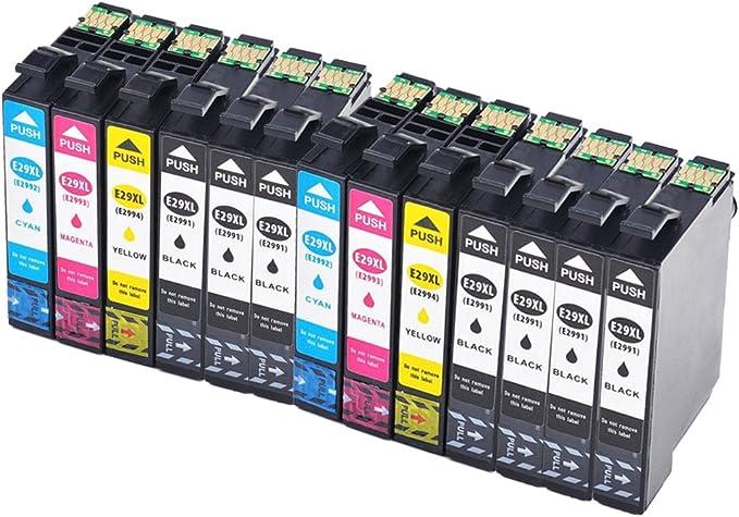 Caidi Cartuchos de Tinta de Repuesto para Epson Expression Home XP ...