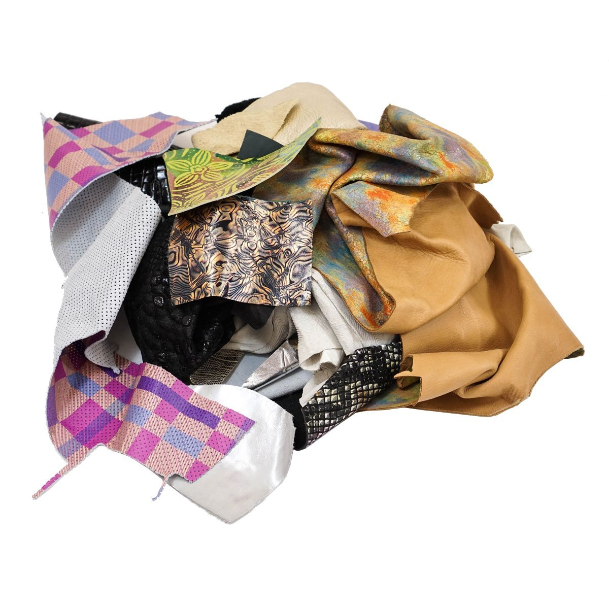 Crazy Leather Scrap Bag SLC 4336862311