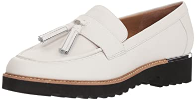 69ac2f4e7e6 Franco Sarto Women s Carolynn Loafer White 8.5 ...