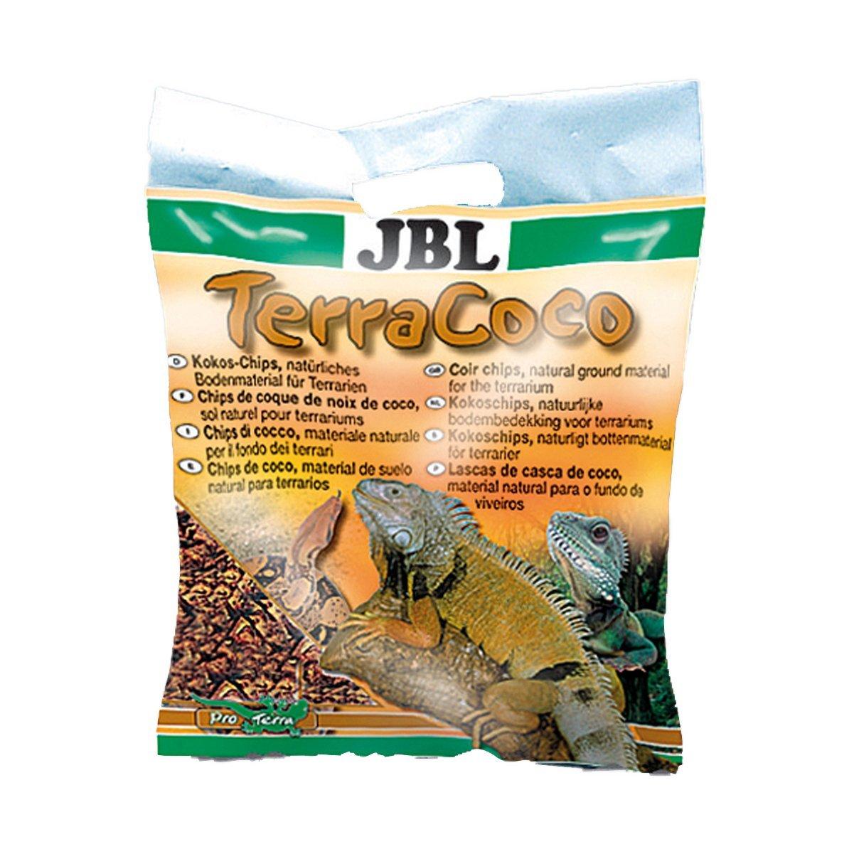 JBL para todos los Tipos de terrarios de Suelos, Coco Chips, Comprimidos, torfartig, terr acoco 7102600
