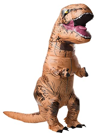 Amazon.com: UHC hinchable T-Rex Jumpsuit W/Sonido divertido ...