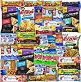 Blue Ribbon Care Package 40 Count Snacks, Bars, Chips Variety Box for Office, Meetings, Schools, Friends & Family, Military, College, Fun Variety Pack