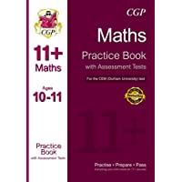 11+ Maths Practice Book with Assessment Tests (Ages 10-11) for the CEM Test (CGP 11+ CEM)