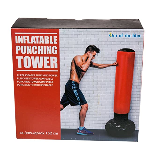 Geschenkbox Caja de Regalo Boxeo Punching Tower Saco de ...