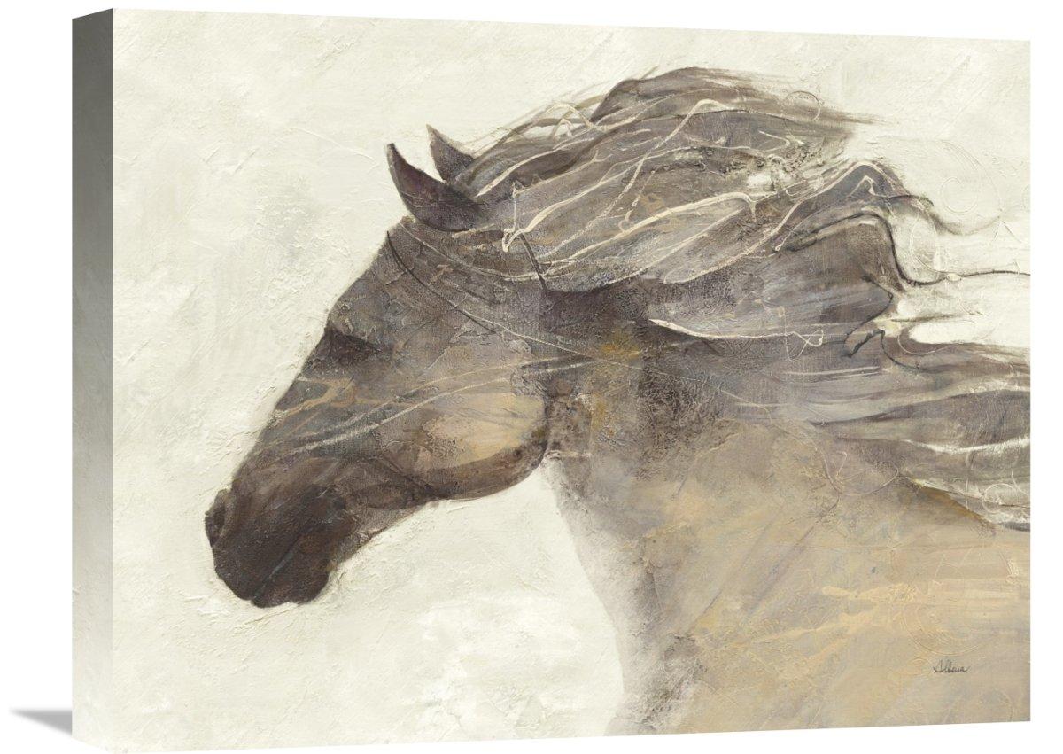 Global GalleryAlbena Hristova Into The Wind Ivory Giclee Stretched Canvas Artwork 28 x 22