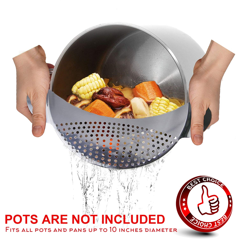 Amazon.com: Mejor de la pasta Utensilios de cocina Pan Pot ...