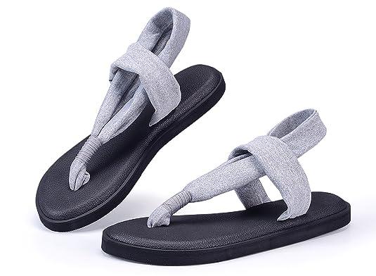 e1dfbe51a0511 Santiro Men s Women s Lightweight Thong Sandals Flip-Flops  Amazon.ca   Shoes   Handbags