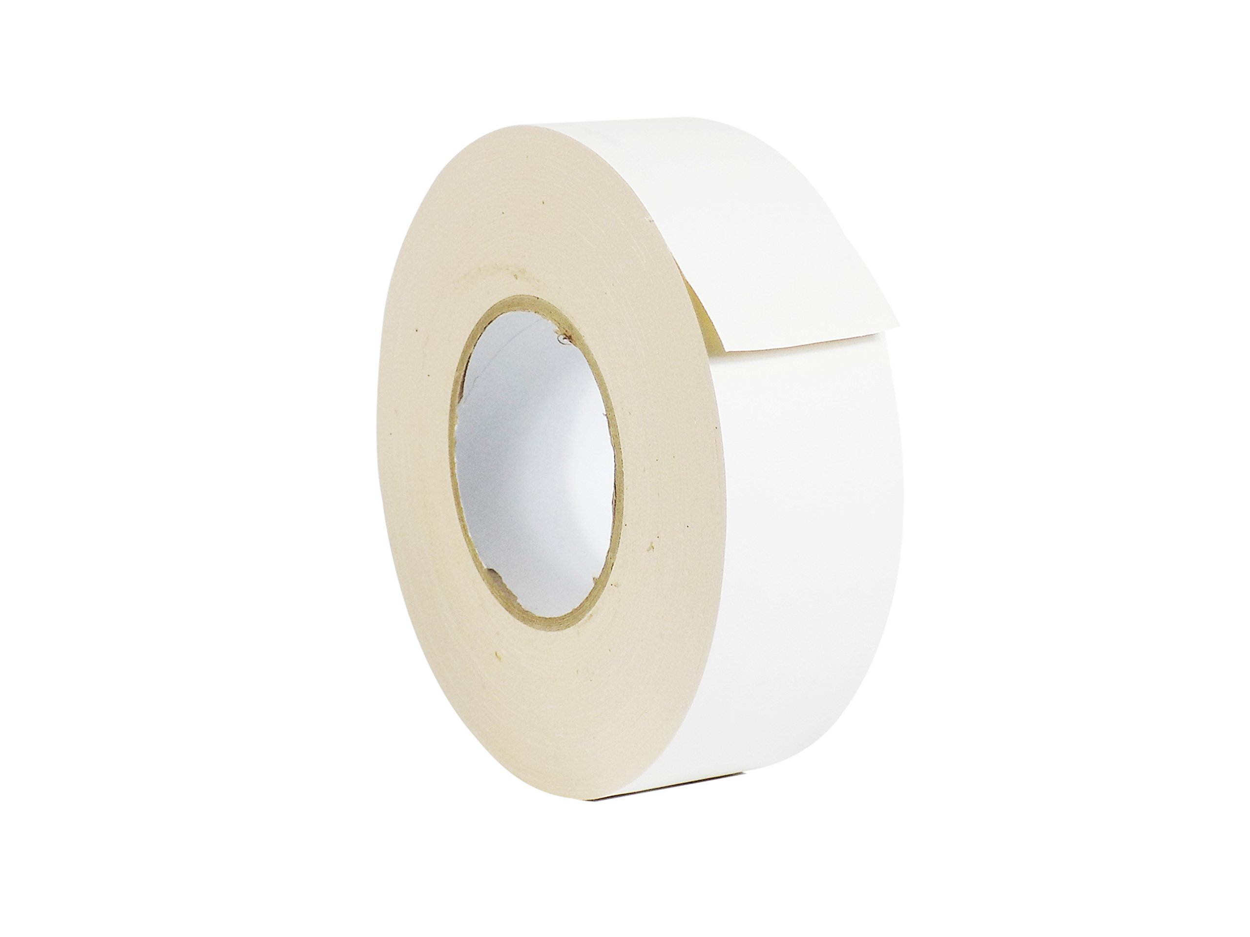 WOD CGT-80 White Gaffer Tape Low Gloss Finish Film, Residue Free, Non Reflective Gaffer, Better than Duct Tape (Available in Multiple Sizes & Colors): 3 in. X 60 Yards (Pack of 16) by WOD Tape (Image #1)