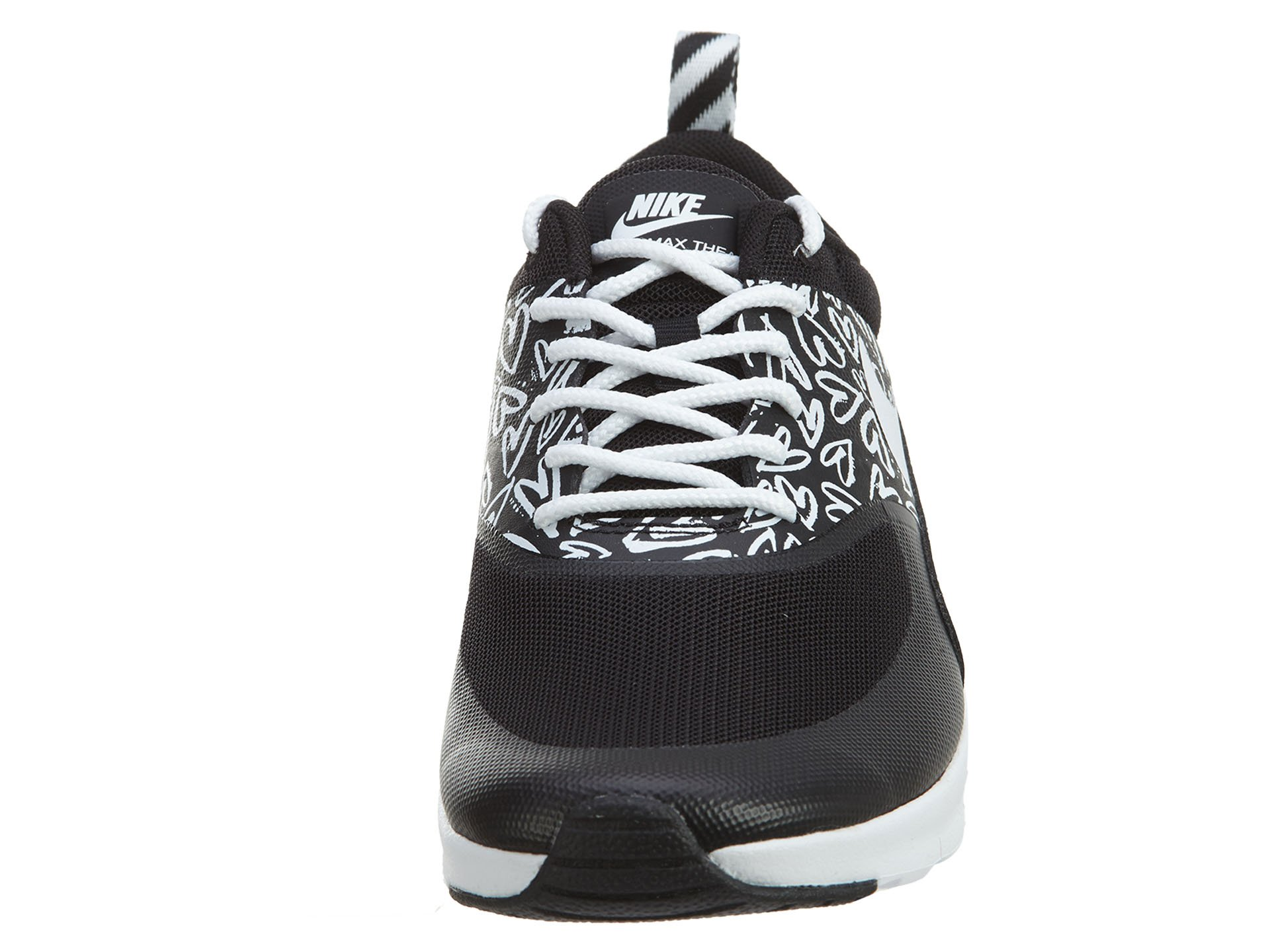 Nike Air Max Thea Print (GS) Schuhe black-white-lava glow - 36