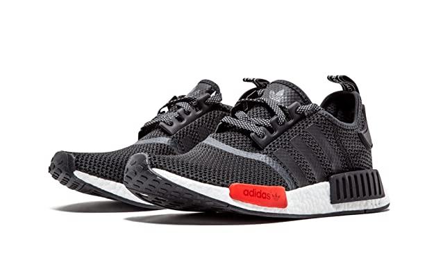 baca95eb6f080 Adidas NMD R1 Footlocker Exclusive - Black White Red  Amazon.co.uk  Shoes    Bags