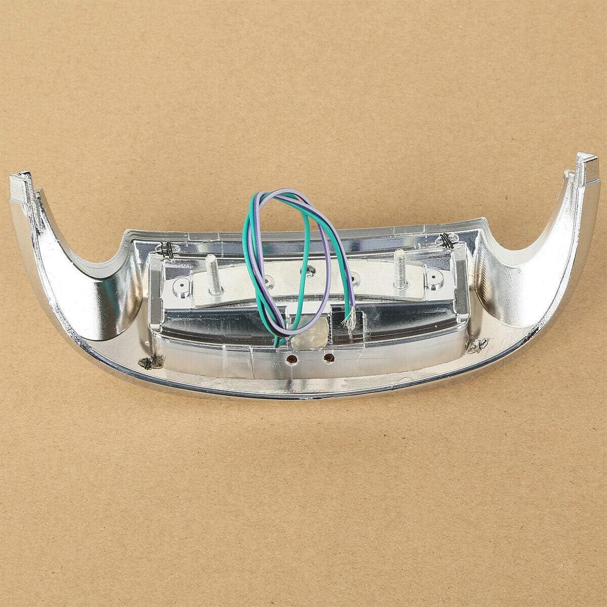 Green-L Front Fender Tip Smoke Lens LED Light Fit For Harley Road Electra Glide Ultra Limited Low FLHTKL 2009-2020