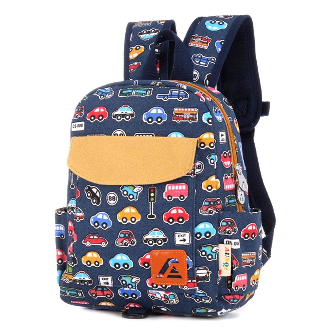 childrens designer handbags 5c8z  iTECHOR Printing Canvas Backpack Rucksack Kindergarten School Student Bag  for Boys Girls Kids Children Toddlers