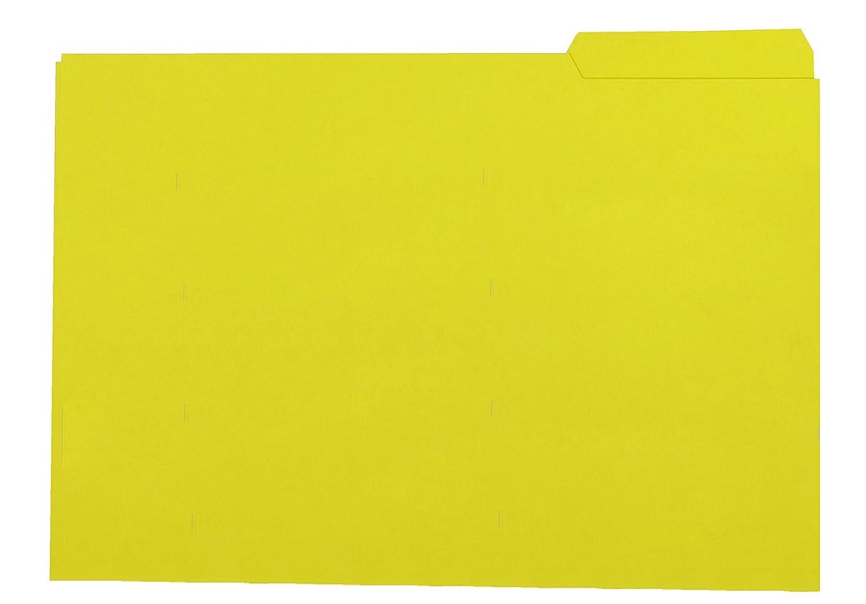 Elba Gio 400040699–Confezione da 50Cartelline con ciglia destra, colore: Giallo Hamelin Brands