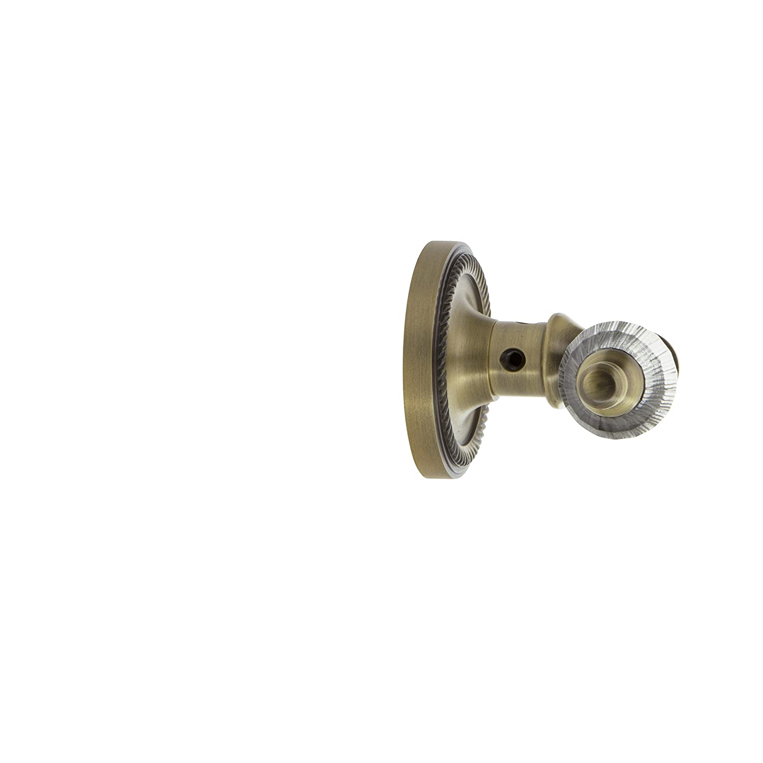 Mortise Satin Nickel Nostalgic Warehouse Rope Rosette with Parlor Lever