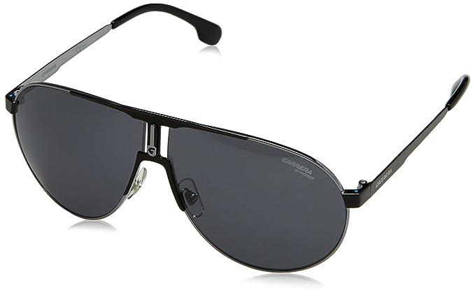 eeb469bc7a0 Amazon.com  Carrera Men s Ca1005s Aviator Sunglasses BLACK GOLD BROWN  GRADIENT 66 mm  Carrera  Clothing