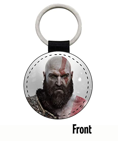 MasTazas God of War Kratos Llavero Keyring: Amazon.es ...