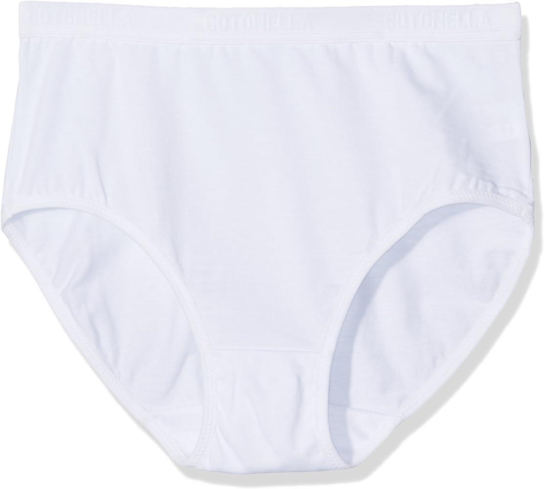 Cotonella A 8126 0001 K2 Slip de Mujer, Bianco, 40 (Pack de 2): Amazon.es: Ropa y accesorios