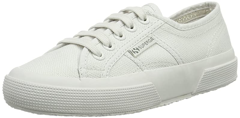 Superga 2750 Cotu Classic Sneakers Low-Top Unisex Damen Herren Grau