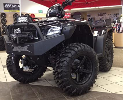 Honda 420 Rancher >> 2014 2016 Rancher 420 Winch Series Front Bumper By Strong Made Bg 46w