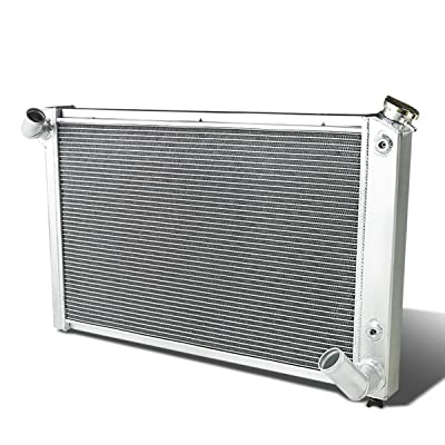 DNA Motoring RA-CCV869-57L-3 3-Row Full Aluminum Radiator: Automotive