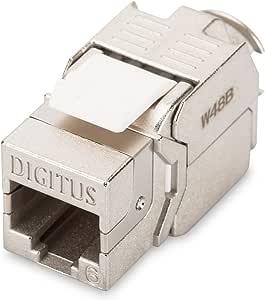 ASSMANN Electronic DIGITUS Professional CAT 6 - Wire connectors (Metallic)