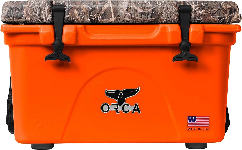 ORCA 26 Realtree Max 5 Lid Cooler Camo