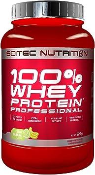 Scitec Nutrition 100% Whey Protein Professional con aminoácidos clave y enzimas digestivas adicionales, 920 g, Kiwi-Plátano