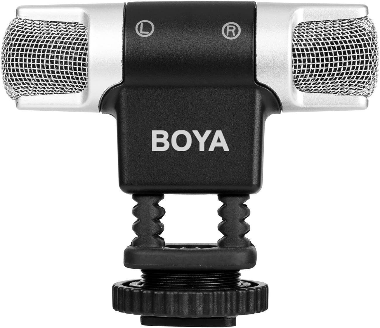 Amazon Com Boya By Mm3 Mini Condenser Stereo Shotgun Microphone