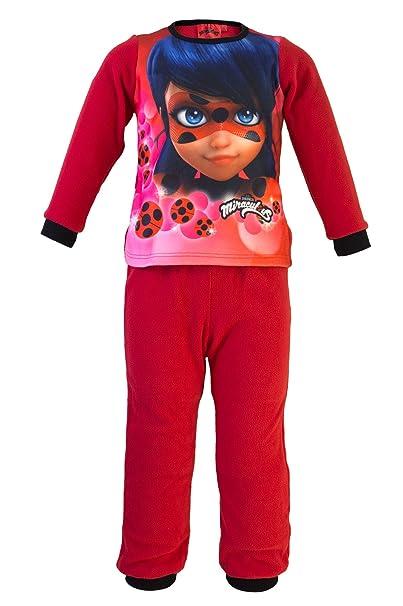 Miraculous - Conjunto Pijama - para niña - 832-939 [Rojo - 10 años