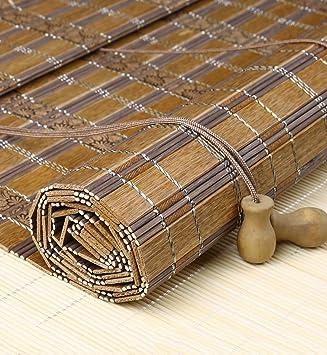 Amazon De Caijun Bambus Vorhang Custom Vorhange Retro Bambus
