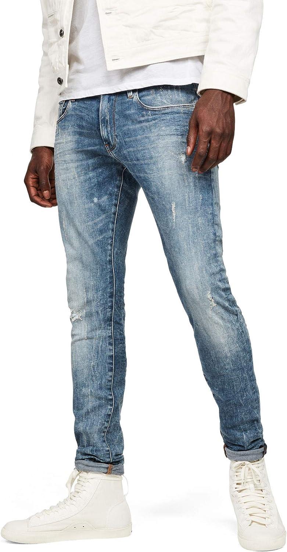 TALLA 27W / 32L. G-STAR RAW 3301 Skinny Jeans Vaqueros para Hombre