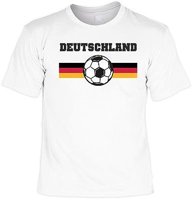 Deutschland Fussball Coole Sprüche Tshirt mit Urkunde : ): Amazon