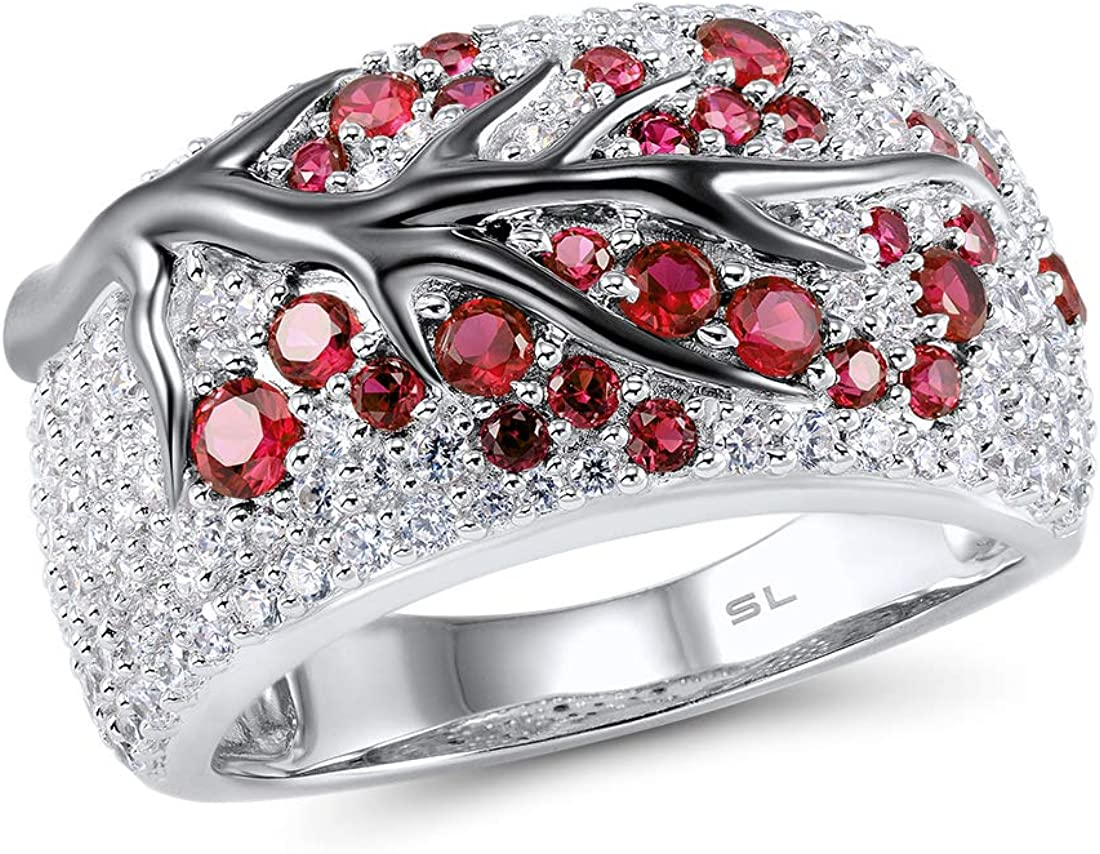 Cherryn Jewelry Handmade Pink G Silver Plated Ring Size sterling silver engagement ring fashion rings sterling silver
