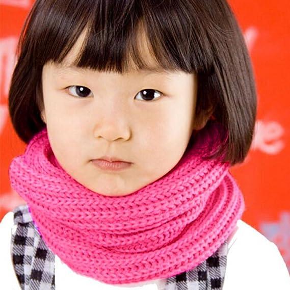 Baby Kids Toddler Girl Boy Snood Scarf Neck Warmer Multi Colour Popular Fancy