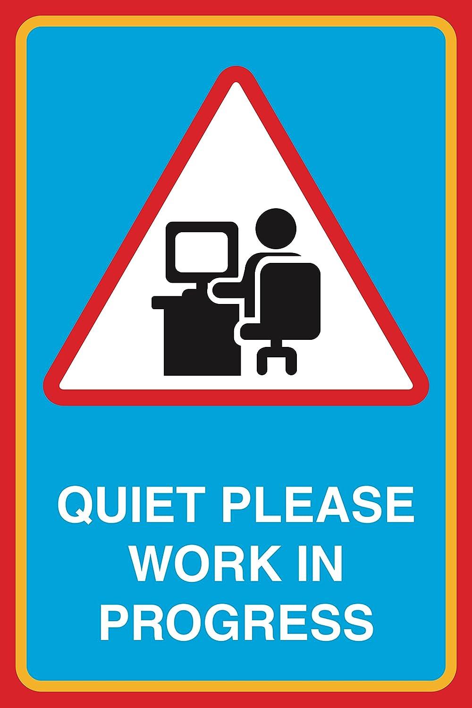 Amazon.com: Quiet Please Work in Progress imagen de ...