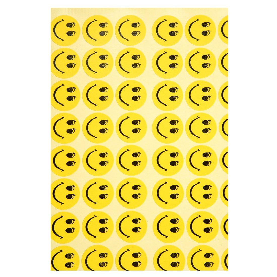 TOOGOO R 324 pz stickers con viso sorridente premio bambino per insegnamento e feste