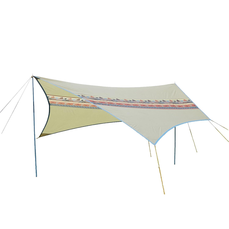 ロゴス(LOGOS) タープ ナバホTepee ブリッジヘキサ-AE 高さ調整可能 ナバホシリーズ連結可能