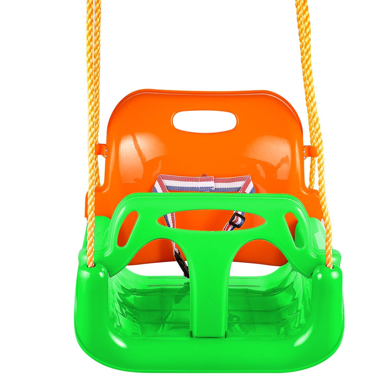 【誠実】 etuoji Swing Seat 3 3 in 1ジャングルジムHeavy グリーン DutyチェーンPlaygroundスイングセット[米国ストック] グリーン B07CN2PDX2 AMA005272 B07CN2PDX2 グリーン, Chrome Sports:e773909e --- munstersquash.com