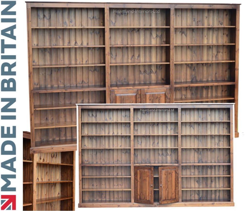 Gran Pino estantería, 7 ft x 9 ft 10