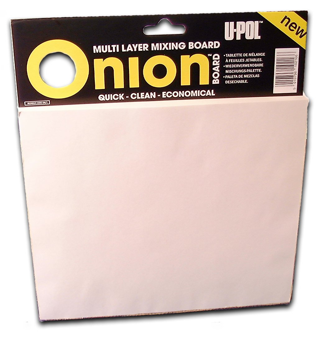 U-Pol Products 0737 ONION BOARD Multilayered Mixing Palette